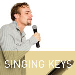 Learn how to sing in key
