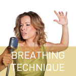 Learning proper breathing vocal lessons