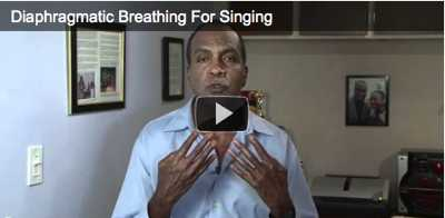 How to sing with your diaphragm?